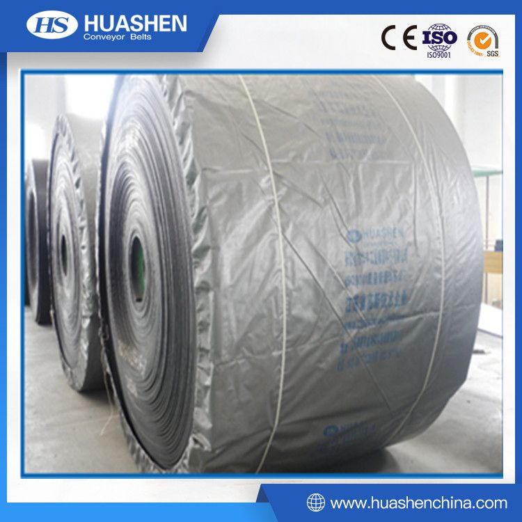 reliable running conveyor system coal transmission ep king grooved conveyor belt