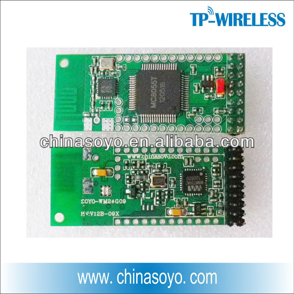 RF audio wireless modules (transmitter and receiver)
