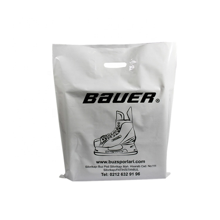 China Suppliers Wholesale 100% Biodegradable Own Logo Printing Shoes Carry  Custom Plastic Bags Philippines - Buy Plastic Packaging Bags,Die Cut Custom