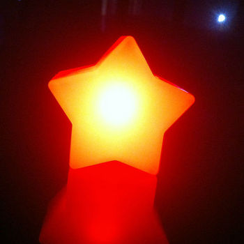 LED Mood Lights Colour Changing Night Lamps Star Shaped