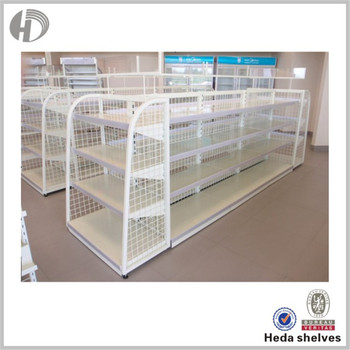 Guaranteed Quality Low Cost Supermarket Shelving For Sale