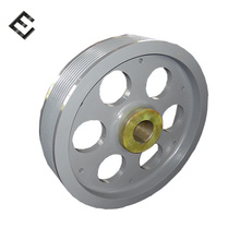 Ore Drilling Cast iron Flywheel Wear Resistant Spare parts