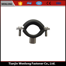 Metal Galvanized Pipe Supporting Rubber Hose Clamp/Hydraulic Hose Clamp