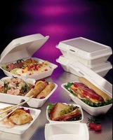 Biodegradable fast food disposable take away foam packing food container