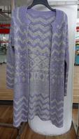 Cardigan Women Lace Sweet Candy Color Crochet Knit Blouse Long-sleeve Tops Women Sweater Cardigans (BKNL27014)