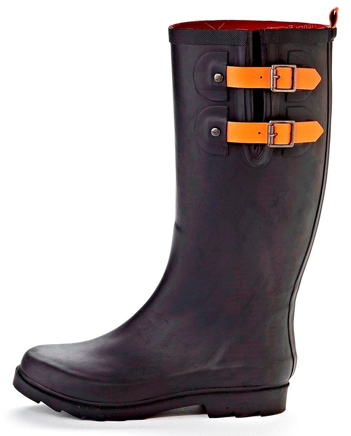 bb612f655b2 Get Quotations · Henry Ferrera Black Stone Women's Water-Resistant Rain  Boots