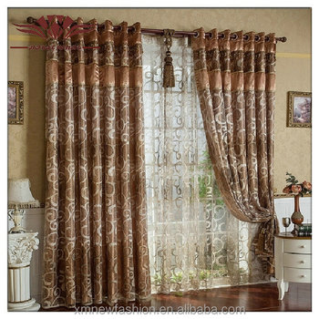 Palais Grommet Top Curtain Panel Paisley Window Nest Gauze Curtains