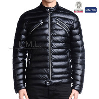 2016 custom branded ultra light outdoor biker winter clothing down coat men jacket for winters /man jacket
