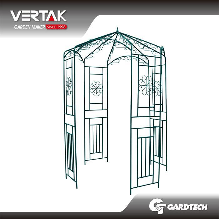 new concept garden archway with plants