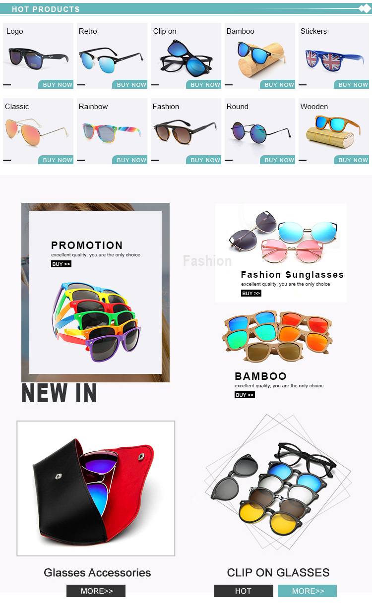 2019 Factory Direct New Stylish Clip On Sunglasses Night Vision