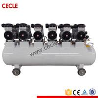 clean low noise oil free air compressor