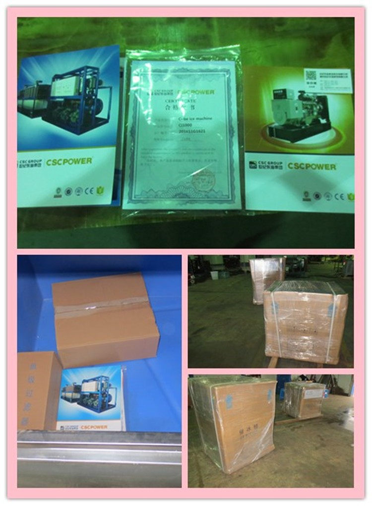 guangzhou restaurant ice cube making machine with delivery time 7 days