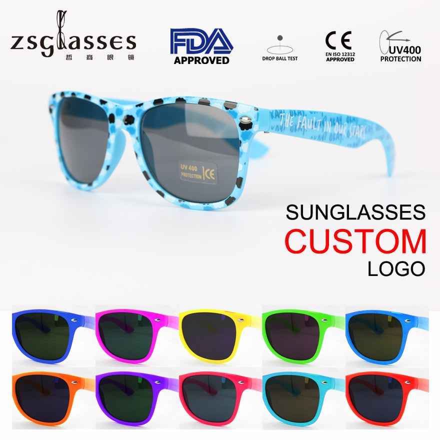 sunglasses custom logo