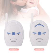 Portable Wireless 2.4GHz Digital Audio Baby Monitor Sensitive Transmission Voice Two Way Talk