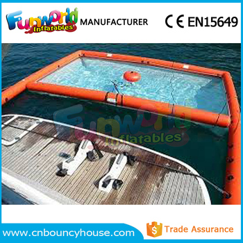 Outdoor Floating Pool Inflatable Yacht Pool Yacht Swimming Pool For Sale Buy Inflatable Yacht