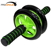 14.5cm Fitness Exercise Double Use AB Wheel Roller