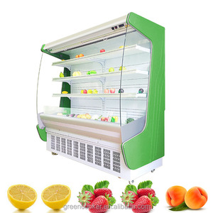 good price beverage milk display supermarket commercial refrigerator and freezer