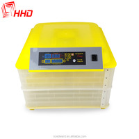 Newest CE Approved Cheap High Quality Best Price Digital Automatic 96 egg Incubator Chicken egg incubator full-automatic incubat