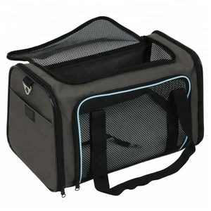 Airline Approved Pet Carriers,Soft Sided collapsible Pet travel Carrier for medium puppy and cats