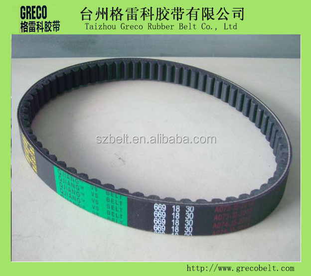 Scooter Drive V-belt Motorcycle Belt Rubber Drive Belt 669*18*30 ...