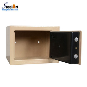 Metal small size safe hidden wall mounted secret safe box