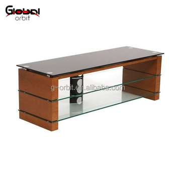 Unique Wooden And Tempered Gl Tv