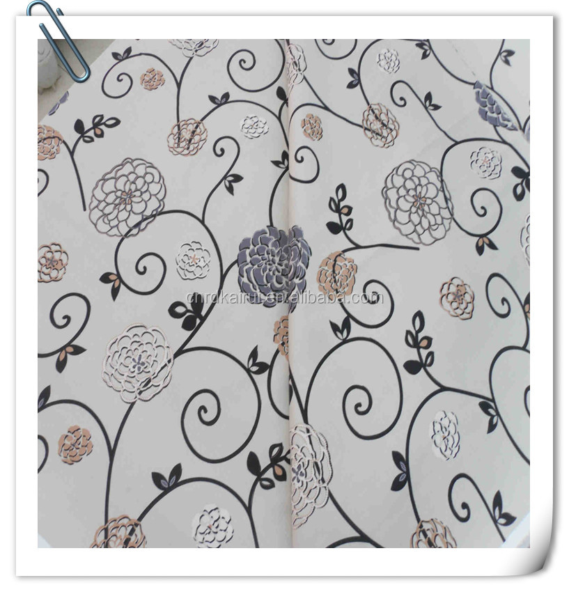 Nantong textiles Indonesia Printed Poplin white Cotton viscose Fabric for sheeting in roll cheap