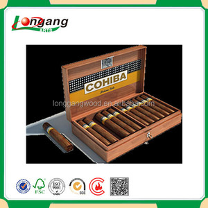 Wooden cigar box cigar box packing CY-CG1