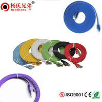1m/2m/3m/5m/10m/20m rj45 110 patch cord cat5e cat6 utp patch cable