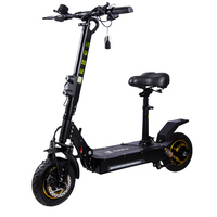 Cheap New HS Code 8711600010 Electric Motorbike Ebike E Scooter 48V 1600W Long Range with Seat