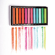 Nontoxic 12 Colors Temporary Hair Coloring Chalk