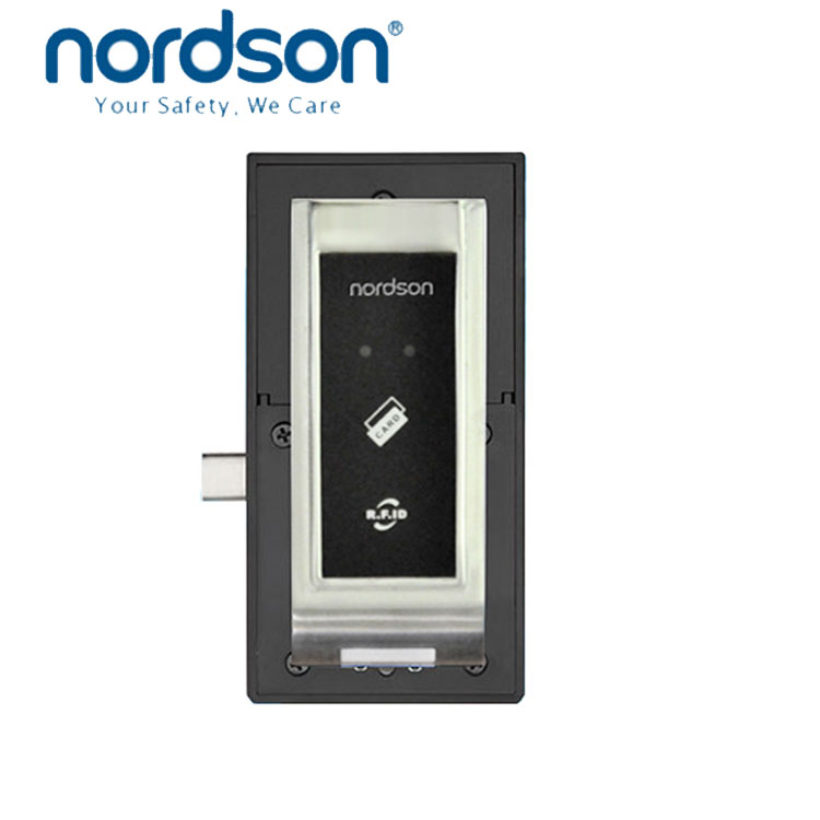 Nordson recommend keypad 3xAA alkaline battery EM Card Health and Fitness clubs EM ID card Cabinet lock RFID cabinet metal locks