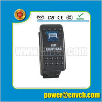 China Factory New Model RLS231815-24W Rechargeable LED marine portable light on off light toggle switch