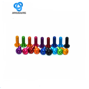 aluminum socket head cap screws anodized aluminum bolts m3