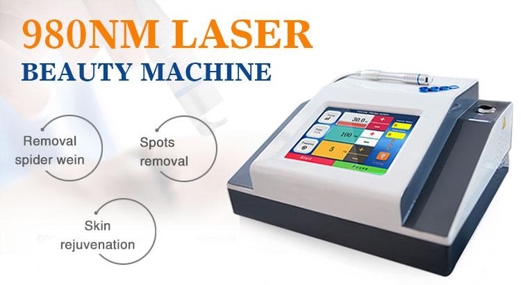 diode vascular laser 980nm vein removal Spider Vein Removal Machine