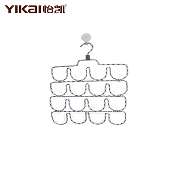 YiKai plant braided cord metal scarf hanger for houseware