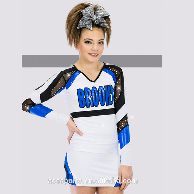 plus size wholesale cheerleading uniforms sublimated custom,all star cheer uniform