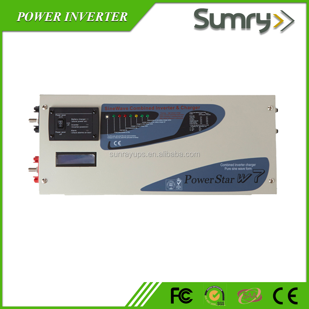high quality low frequency solar power inverter 1kw 2kw 3kw 12 volt inverter wtih battery charger