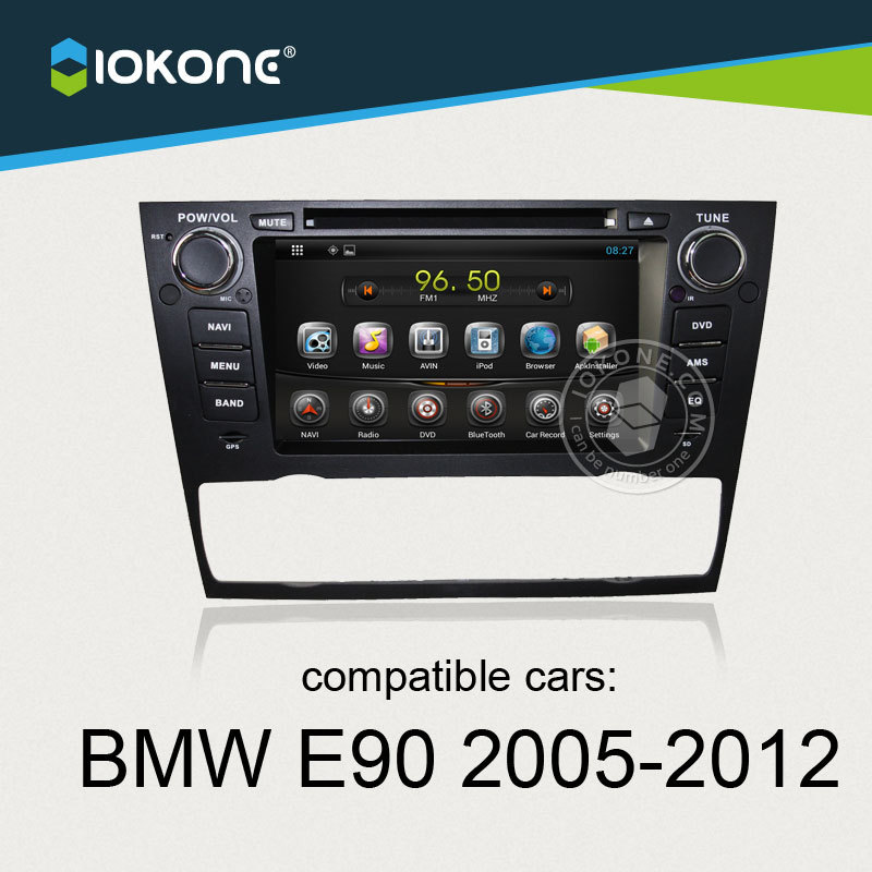 Android Car DVD Stereo player with Touch Screen capacitive screen For BMW E90 Saloon 2005 2006 2007 2008 2009 2010 2011 2012
