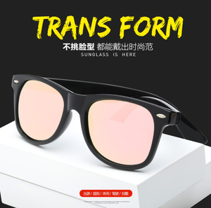 Sunflower custom logo no minimum promotion classics polarized lens and spring hinge high quality sunglasses pc