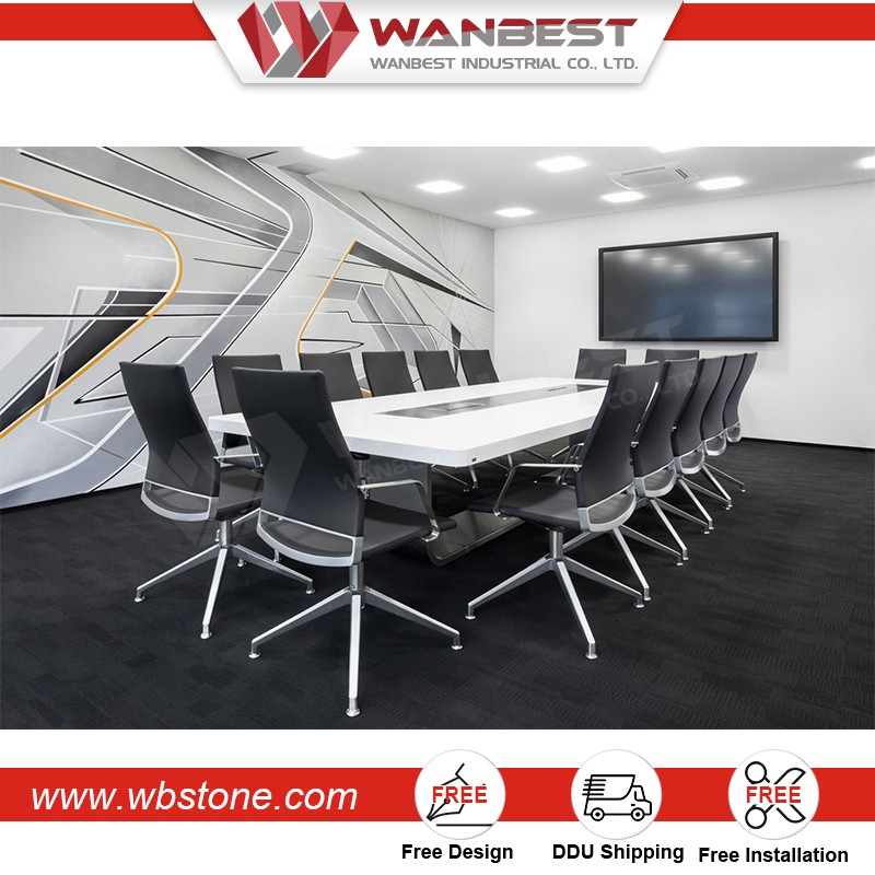 Brand New Chinese Conference Table Small Meeting Table Multimedia - Multimedia conference table