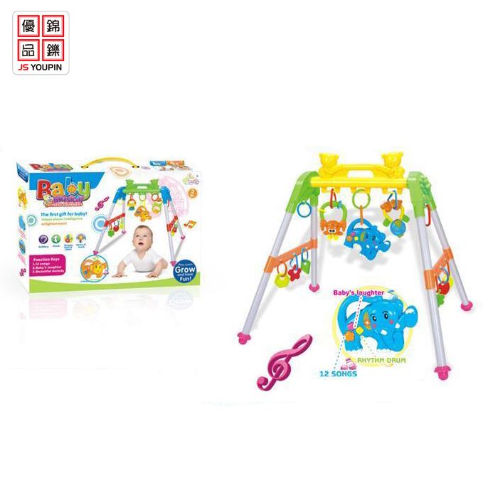 Multi-functional Baby Fitness Exercise with Music and Light