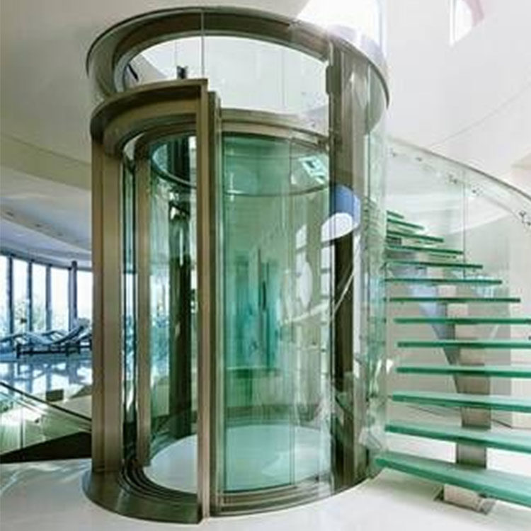 Cheap Price Villa Used Pneumatic Vacuum Elevator, Villa Glass Home Round Elevator