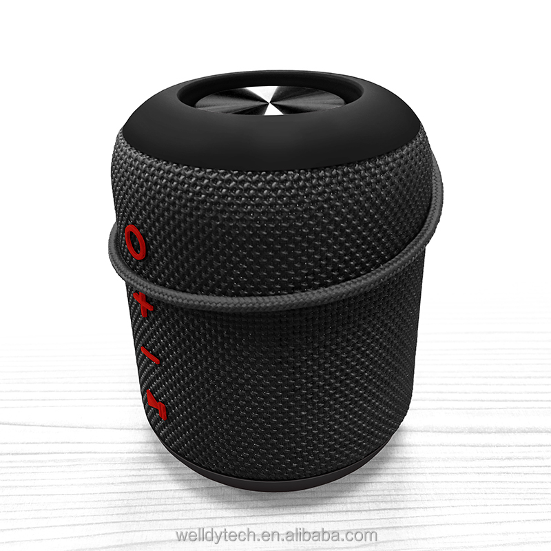 Mini Wireless Speaker 85mm <strong>Portable</strong> & Rechargeable Subwoofer Speaker