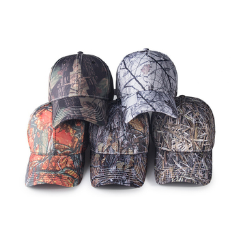 Customized Fashion Leaf Camo Baseball Caps And Men Outdoor Realtree Camo Promotional Camo Hat