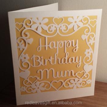 Popular Thank You Card Diy Birthday Card For Mum Buy Thank You