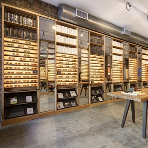 Modern Custom Retail Optical Shop Interior Design and Glass Eyewear Store Display Showcase