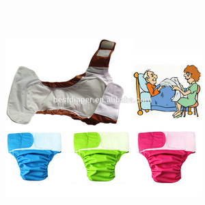 Adult Cloth Diaper washable reusable adult cotton diaper soft absorbent wholesale free sample