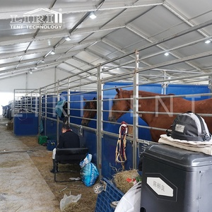 Big tent for horse stable and equestrian games in Europe