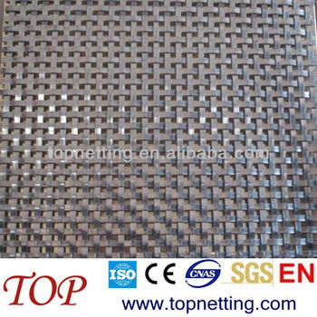 Stainless Steel Flat Wire Woven Mesh Screen Cabinets Decorative